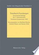 Totenbuch-Forschungen