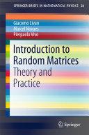 Introduction to Random Matrices