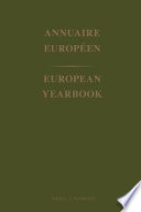 European Yearbook Annuaire Europeen 1970
