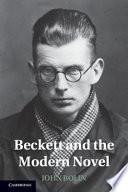 Beckett and the Modern Novel