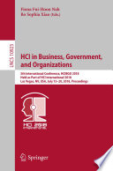 HCI in Business  Government  and Organizations