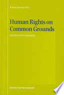 Human Rights On Common Grounds