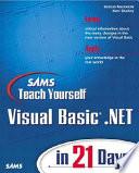 Sams Teach Yourself Visual Basic NET in 21 Days