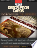 Description Cards   Storytellers Deck   LABYRINTH excerpt    Creative Inspiration for Writers  Storytellers and GMs