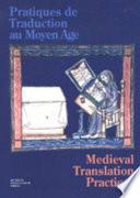 Medieval translation practices