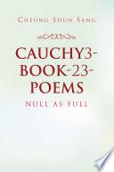 Cauchy3 Book 23 Poems