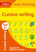 Cursive Writing Ages 4 5