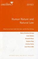 Human Nature and Natural Law Book PDF