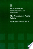 The Provision of Public Toilets