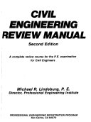 Civil engineering review manual