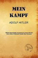 Mein Kampf  James Murphy Nazi Authorized Translation