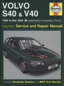 Volvo S40 V40 Service And Repair Manual