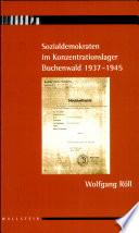 Sozialdemokraten im Konzentrationslager Buchenwald 1937-1945