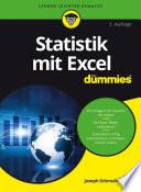 Statistik mit Excel f r Dummies