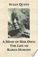 A Mind Of Her Own The Life Of Karen Horney