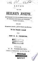 Leven Van Den Heiligen Joseph