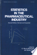 Statistics In the Pharmaceutical Industry  3rd Edition