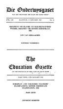 The Education Gazette book