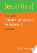 Einheiten und Symbole für Ingenieure