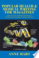 Popular Health Medical Writing For Magazines book