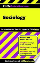 CliffsQuickReview Sociology