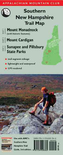 Southern New Hampshire Trail Map  TYVEK