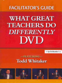 Facilitator s Guide What Great Teachers Do Differently DVD