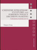 download ebook chinese strategic culture and foreign policy decision-making pdf epub