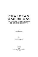 Chaldean Americans