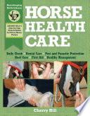 Horse Health Care