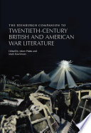 Edinburgh Companion to Twentieth Century British and American War Literature