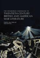 download ebook edinburgh companion to twentieth-century british and american war literature pdf epub