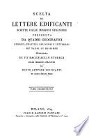 Della scelta delle lettere scritte dell  India  libri quattro  lib  4