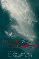 Milton And Toleration book