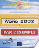 Word 2002  Avec CD ROM