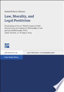 Law, Morality, and Legal Positivism