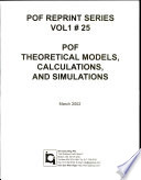 Pof Theoretical Models Calculations And Simulations