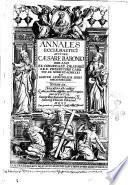 Annales ecclesiastici auctore C  sare Baronio Sorano congregationis oratorii presbytero     Tomus 1    12