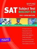 Kaplan Sat Subject Test Biology E M 2007 2008 Edition