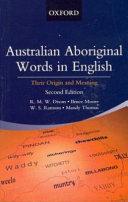 Australian Aboriginal Words in English