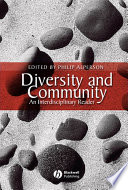 Diversity and Community
