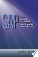 SAP  How to Write a Report Functional Specification