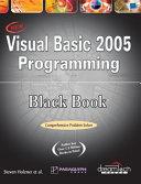Visual Basic 2005 Programming Black Book