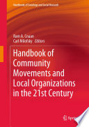 Handbook Of Community Movements And Local Organizations In The 21st Century