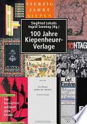 100 Jahre Kiepenheuer Verlage