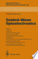 Guided-Wave Optoelectronics