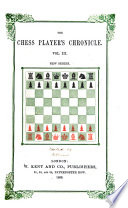 British Miscellany and Chess Player s Chronicle