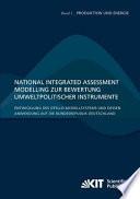 National Integrated Assessment Modelling zur Bewertung umweltpolitischer Instrumente : Entwicklung des otello-Modellsystems und dessen Anwendung auf die Bundesrepublik Deutschland