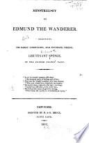 Minstrelsey Of Edmund The Wanderer