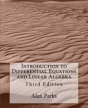 Introduction to Differential Equations and Linear Algebra